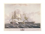 The Battle Between the Uss Constitution and the Hms Guerriere