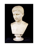 'The Young Octavian' Bust of the Emperor Augustus (63Bc-14Ad)  C1800