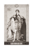 George IV (1762-1830) from 'Illustrations of English and Scottish History' Volume II