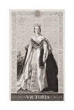 Queen Victoria (1819-1901) from 'Illustrations of English and Scottish History' Volume II