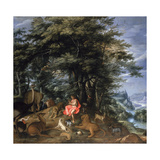 Orpheus Charming the Animals  1610
