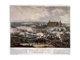 Centre of the British Army at La Haye Sainte During the Battle of Waterloo  Etched by Thomas…