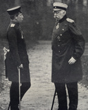 Otto Von Bismarck (1815-1898) German Chancellor and Kaiser Wilhelm II (1859-1941) Emperor of…