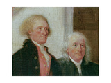 Drafting the Declaration of Independence  28th June 1776  Detail of Thomas Jefferson (1743-1826)…