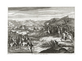 The Battle of Edgehill in 1642