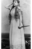 Lucy Bertrand Berthet (B1866) in 'Gwendoline' by Emmanuel Chabrier (1841-94)