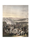 The Flight of Napoleon  Waterloo  18th June 1815