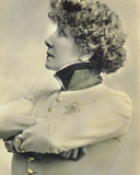 Postcard Showing the Actress Sarah Bernhardt (1844-1923)