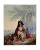 Sioux Indian Girl