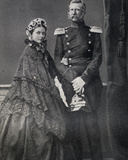 The Emperor (1831-88) and Empress (1840-1901) Frederick of Germany