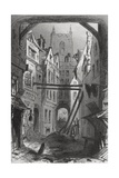 Tom All Alone's  Illustration from 'Bleak House' by Charles Dickens (1812-70) Published 1853