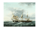 Naval Engagement Between Uss Wasp and Hms Frolic  C1815