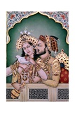 Shah Jahan (1592-1666) and His Wife  Arjumand Banu Begum (D1631) Mumtaz-I Mahal