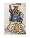 The Republican-Hercules Defending His Country  Published by Hannah Humphrey in 1797