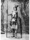 Alois Burgstaller (1871-1945) as Siegfried in 'siegfried' by Richard Wagner (1813-83) at Bayreuth