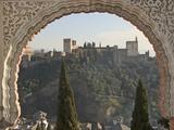 View across Albaicin to La Alhambra