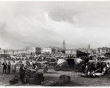 Am Kai Levee in New Orleans  C1840