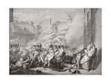 The Death of Major Peirson at St Helier  Retaking Jersey from the French  8 January 1781  from…