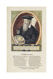 Image of Gerard Mercator (1512-94) from 'Atlas Sive Cosmographicae Mediationes'