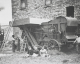Steam Threshing Machine  Mons  1883
