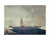 The Whaling Fleet of Sir Samuel Standidge  1788