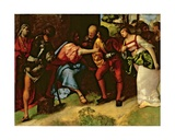 The Adulteress Brought before Christ  C1508-10