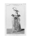 Costume Design for Mademoiselle Mars in the Role of Dona Sol  in 'Hernani' by Victor Hugo