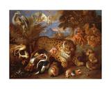Orpheus Charming the Animals