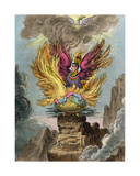 Apotheosis of the Corsican Phoenix  Published by Hannah Humphrey in 1808