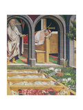 The Apparition of Gamaliel to the Priest  Lucien  from the Altarpiece of St Stephen  C1470