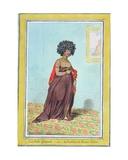 La Belle Espagnole  or La Doublure De Madame Tallien (1773-1835) Published by Hannah Humphrey in…