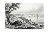 East Coast of America  Engraved by JC Mcrae