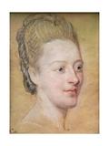 Portrait of Isabelle De Charriere (1740-1805) Belle De Zuylen  1766