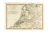 Holland Including the Seven United Provinces of the Low Countries  from 'Atlas De Toutes Les…