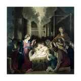 The Nativity  Engraved by GS and SG Facius  1785