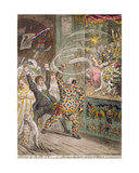 Blowing Up the Pic Nic's  or Harlequin Quixotte Attacking the Puppets  Published by Hannah…