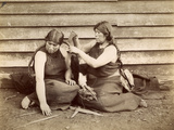Tehuelche Indians  Argentina  1898