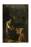 Theseus Lifting the Stone