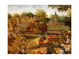 Return from the Kermesse (Detail)