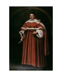Portrait of Sir Matthew Hale Kt (1609-76) Chief Justice of the King's Bench  1670