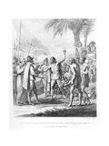 An Indian Cacique of the Island of Cuba Addressing Columbus (1451-1500) Concerning a Future…
