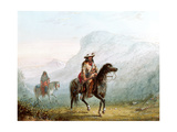 Bourgeois Walker and His Squaw  1837