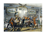 The Toast  from 'Foxhunting'  Engraved by Thomas Sutherland (1785-1838)