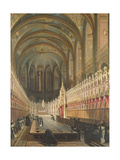Interior of Albi Cathedral  1832
