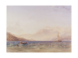 The Head of Loch Fyne  with Dindarra Castle  1850