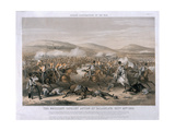 The Brilliant Cavalry Action at the Battle of Balaclava  October 25th 1854  Engraved by Edmund…