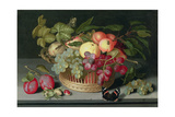 Still Life with a Basket of Fruit  1627