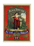 Label for 'Fil a La Sorciere' Brand of Sewing Thread