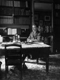 Vincent D'Indy (1851-1931) at His Desk