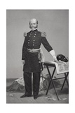 Portrait of Major General Ambrose Everett Burnside (1824-81)
